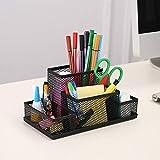 Zcooooool organisateur de bureau porte-stylo meilleure taille organisateur de bureau porte-crayon bureau papeterie organisateur de bureau à domicile école