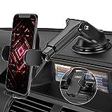 Mpow - Soporte de teléfono móvil para Coche, para Rejilla de ventilación, salpicadero y Parabrisas, 3 en 1, Universal, para iPhoneSE 2020/11/GalaxyS20/Note10/HUAWEI LG, etc.