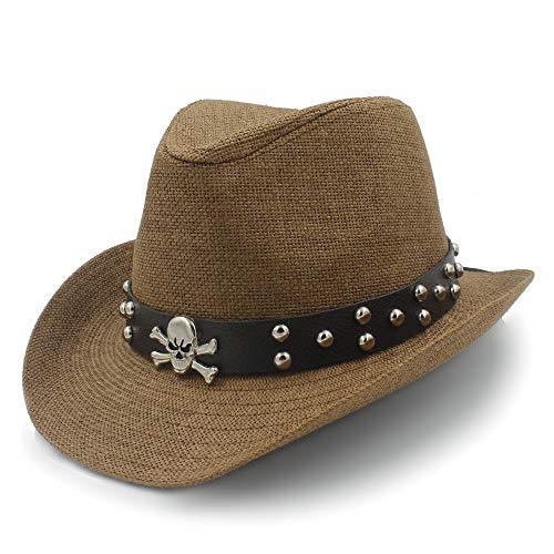 RZL Sombreros de Sol de Verano, Sombrero para el Sol de Paja...