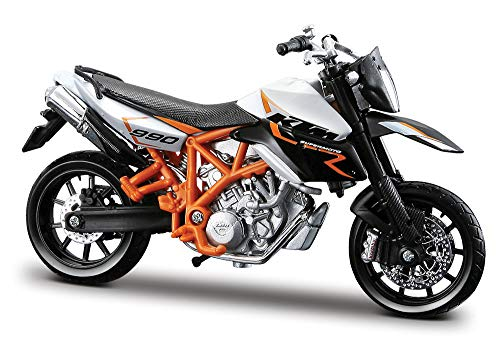 2008 KTM 990 Supermoto R [Bburago 51030-03W], White / Black, 1:18 Die Cast