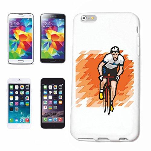 Funda para teléfono móvil compatible con iPhone 6S Ciclismo Ciclismo Ciclismo Ciclismo Mega Sports Hobby Caso Carcasa Carcasa Carcasa Smart Cover