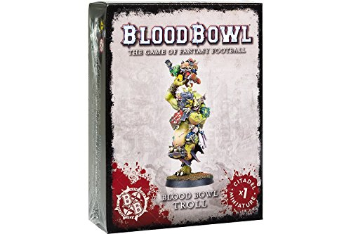 Games Workshop-200-24 Figura Blood Bowl Troll, Multicolor (200-24)
