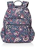 Vera Bradley womens Signature Cotton Campus Backpack Bookbag, Felicity Paisley, One Size US