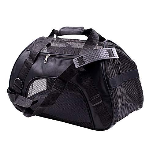 thematys Haustiertragetasche für Hunde und Katzen in 5 Hundetasche aus flexiblem und faltbarem Material - perfekt für Reisen (Style 1, S)