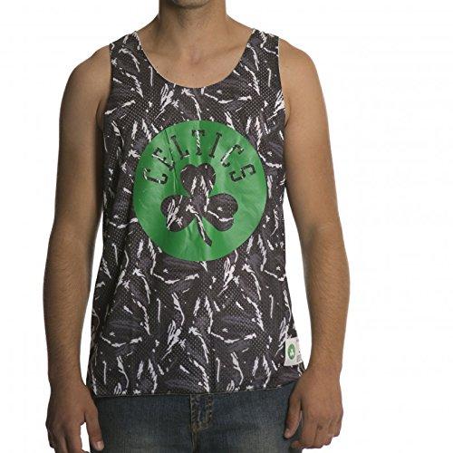 Mitchell & Ness Camiseta de Tirantes NBA Reversible Mesh Tank Boston Celtics GR/WH XL
