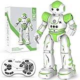 Clickwoo Robot Enfant Jouets, Programmable Robots de Contrôle à Distance, Rechargeable Intelligent Robot Toy kit avec RC, Geste ContrôLe, Chant Et La Danse, Idee Cadeau pour Garcon 8 9 10 Ans