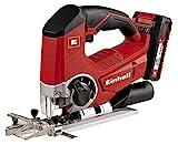 Einhell 4321203 Kit con sierra de calar, 0 W, 0 V, Negro, Rojo, Batería de...