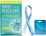 Surfilter Tarjeta de esterilización del Aire Desinfección Tarjeta de protección de cordón Hogar Oficina al Aire Libre Esterilización antibacteriana Cuidado de la Salud (3)