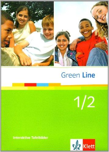 Green Line / Interaktive Tafelbilder. Lehrwerksbegleitende Materialien für das Whiteboard zu Band 1 und 2