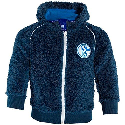 S04 FC Schalke 04 Baby Sweat-Jacke, Einzelgrößen:98