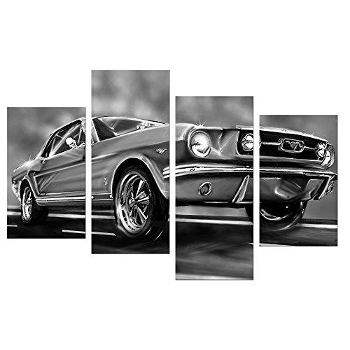 Cuadro coche clásico Mustang