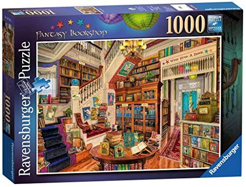 Ravensburger The Fantasy Bookshop (Der Fantasie-Buchladen), Puzzle, 1000Einzelteile