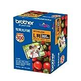 ブラザー工業 写真用紙 写真光沢紙 300枚 L判 BP71GLJ300