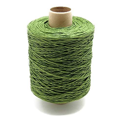 紙糸(細) 約480m ラッピンク用 包装資材 ハンドメイド 和紙糸 (11まっちゃ)