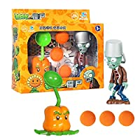Large Genuine Plants Vs. Zombie ToysComplete Set Of Boys Ejection Soft Silicone Anime Action Figures For Kids Christmas Gifts