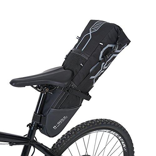 VGEBY Fietszadeltas, waterdichte fietszadelwig, pakzadel opbergtas accessoires