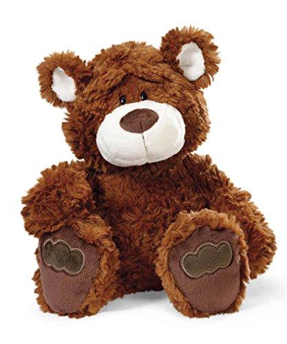 NICI 41494 Classic Bear Kuscheltier Bär Dunkelbraun, 35 cm