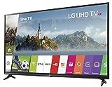 LG 49UJ6200 Smart TV Ultra HD 4K de 49', Color Negro, Paquete de 1