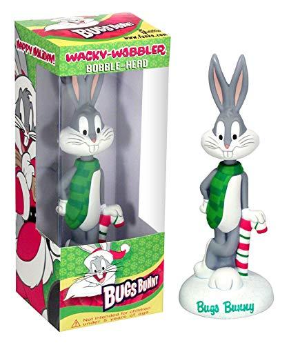 Looney Tunes Bugs Bunny Navidad Cabezon PVC 15cm de Funko