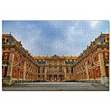 Francia Palacio de Versalles París Puzzle 1000 Piezas para Adultos Familia Rompecabezas Recuerdo Turismo Regalo