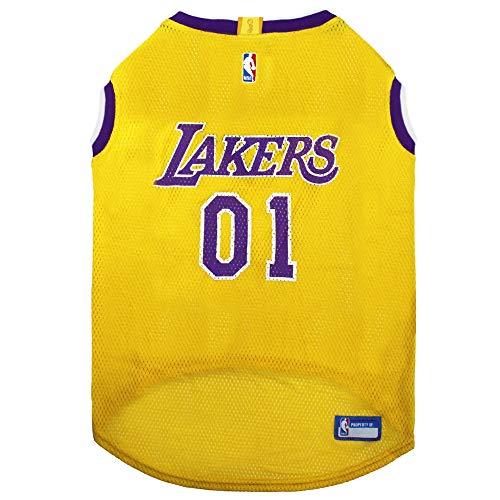 NBA LOS ANGELES LAKERS DOG Jersey, X-Large - Tank Top Basketball Pet Jersey