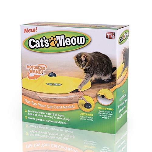 BUYTER Cat'S Meow Pánico con El Mouse Juego Interactivo para Gatito Juguete