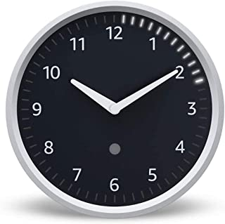 Decorative wall clock See timers at a glance requires compatible device