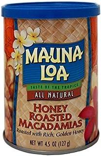 MAUNALOA莫纳罗蜂蜜烘焙夏威夷果127g (美国进口)