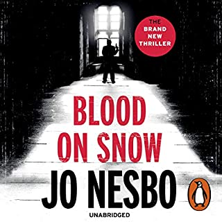 Blood on Snow                   By:                                                                                                                                 Jo Nesbo                               Narrated by:                                                                                                                                 Patti Smith                      Length: 3 hrs and 58 mins     159 ratings     Overall 3.2