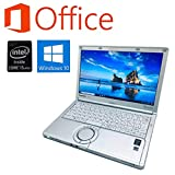 【Microsoft Office 2016搭載】【Windows10搭載】Panasonic CF-SX4 Core i5 5200U 2.2GHz/大容量メモリー8GB/新品SSD480GB/DVDスーパーマルチ/12インチ液晶/無線LAN搭載/HDMI/USB3.0/中古ノートパソコン(メモリー8GB+新品SSD480GB)