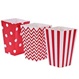 Scatole di popcorn, scatole di caramella di carta della...