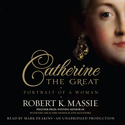 Catherine the Great audiobook cover art