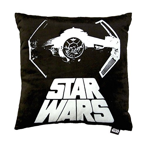 Jay Franco Star Wars Tie Fighter Decorative Pillow, Black