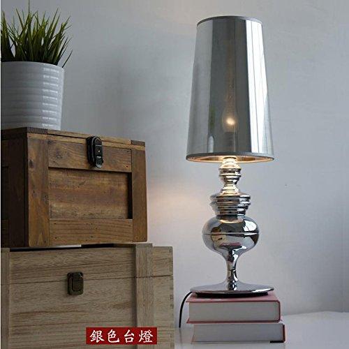 BBSLT lampada da tavoloArte creativa lampada semplice lettura della moda moderna camera da letto comodino decorativa salotto lampada da tavolo luce , black
