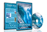 Beach DVD - Ocean Waves with Sea Sounds - Crashing Waves, Misty Cliff and Spectacular Nature Sunset Scenery over the Tropical Beach