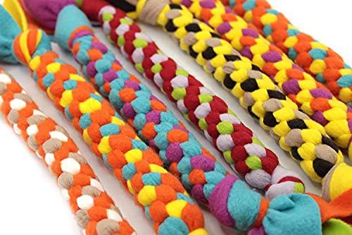 Spielzeugknoten für Hunde, Zergel, Fleecy