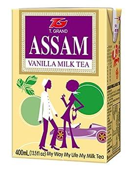 Assam Vanilla Milk Tea 13.5 Fl Oz 24 Count