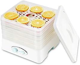 Déshydrateur de nourriture de contrôle de bouton de 5 couches 35 ℃ ~ 70 Machine machine portative portative de fruit séché...