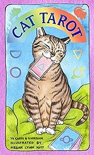 Kancharo タロットカード 78 枚 タロット占い【キャット タロット Cat Tarot】日本語説明書&ポーチ付き(正規品)