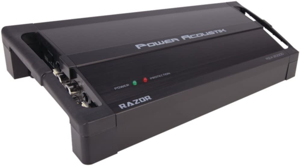 POWER ACOUSTIK RZ1_3500D Razor Series Class D Full-Range & Monoblock Amp (900W x 1 @ 4_, 3,500W Max) Consumer Electronics Accessories