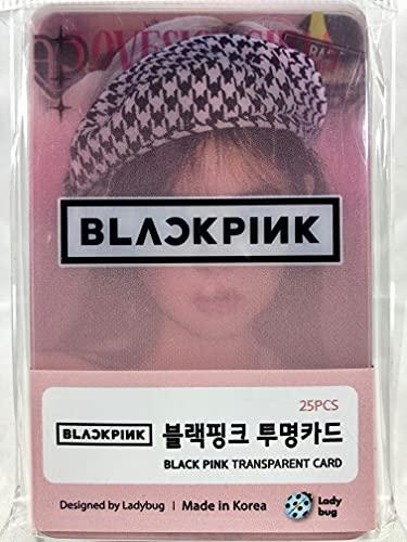 BLACKPINK ブラックピンク グッズ / 透明 フォトカード 25枚セット - TRANSPARENT CARD 25pcs [TradePlace K-POP 韓国製]