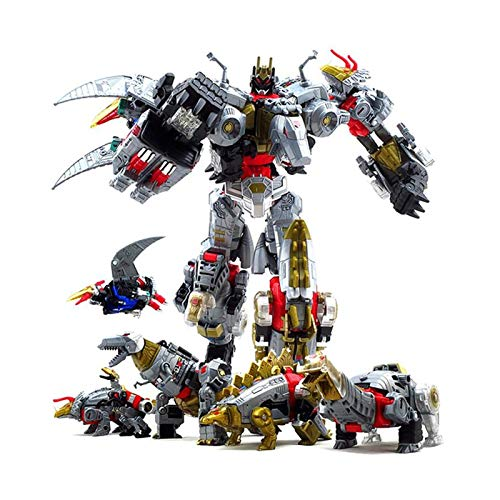 PLMN Trānsformērs Spiēlzēug, Übergröße 33cm Devastator Transformation Roboter Auto Spielzeug Junge...