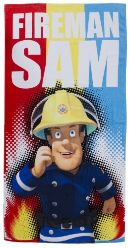 Feuerwehrmann Sam - Badetuch - Strandtuch - Handtuch