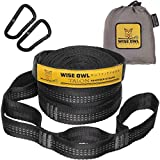 Wise Owl Outfitters Hammock Straps and Carabiners