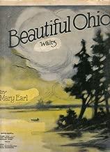 Beautiful Ohio - Waltz (Oversized Sheet Music)