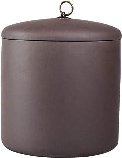 葬儀用壷、大規模な成人火葬灰セラミック製壷、少量のペット用灰に適しています、23x23x22cm、A