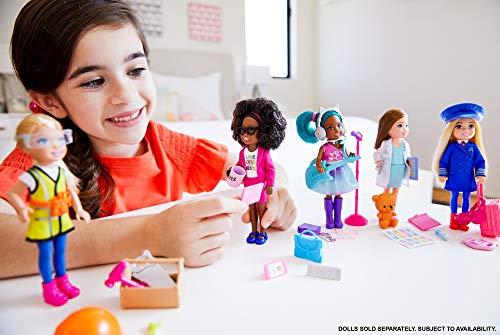 Barbie Chelsea Pop Star Muñeca afroamericana con accesorios de concierto de juguete, para niñas y niños +3 años (Mattel…