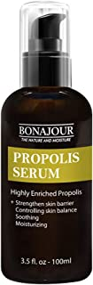 [BONAJOUR] Propolis Serum - The Best Natural Propolis Extract Soothing Gel For Sensitive Skin 3.5 fl.oz (anti-acne, moistu...