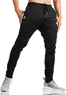 Shakestron Men's Slim Fit Joggers Track Pants Athletics-Fit Workout Sweatpants