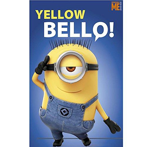 Universal Studios Manta Polar Minions Yellow Bellow